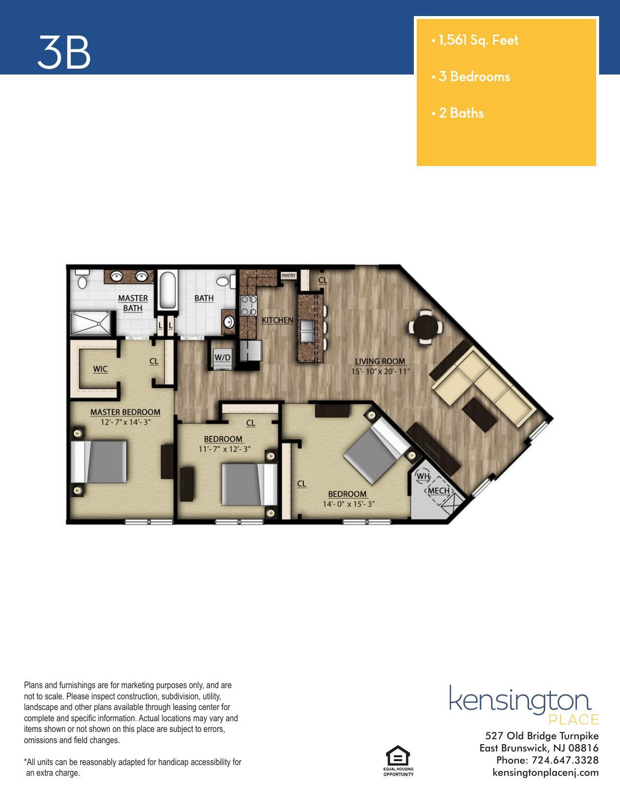 3B Floor Plan