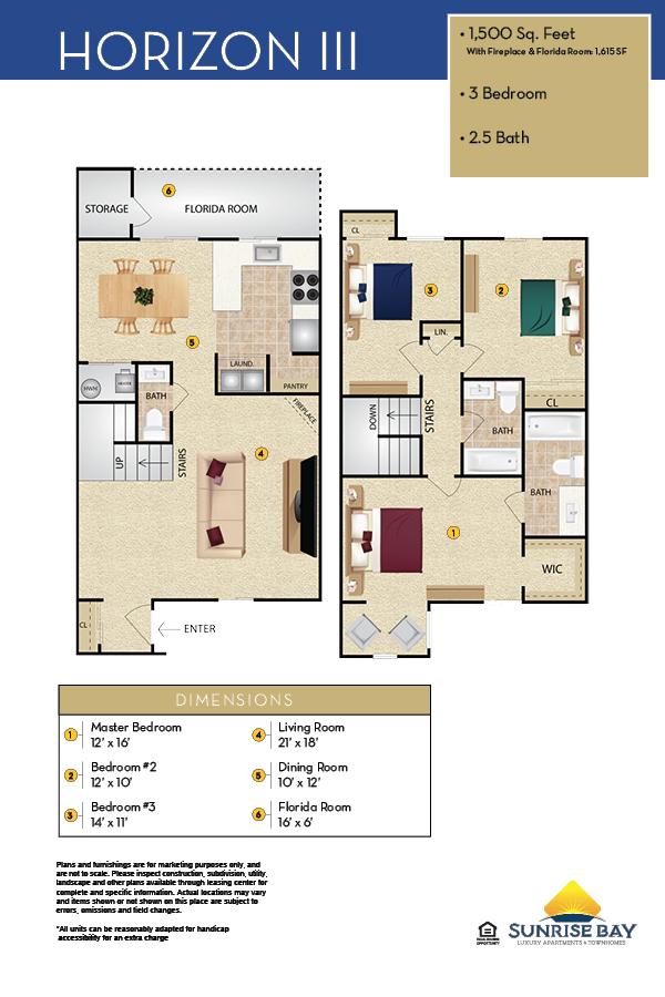 Horizon III Floor Plan