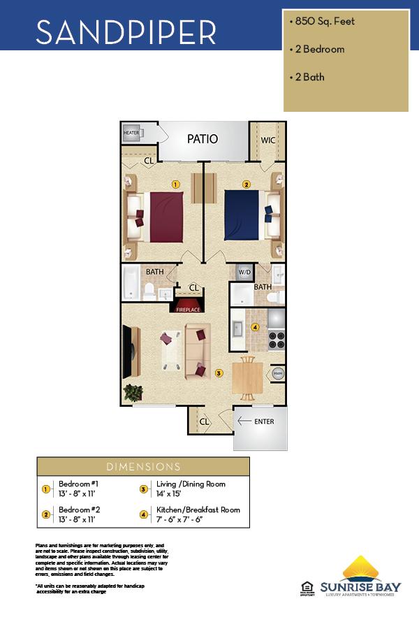 Sandpiper Floor Plan