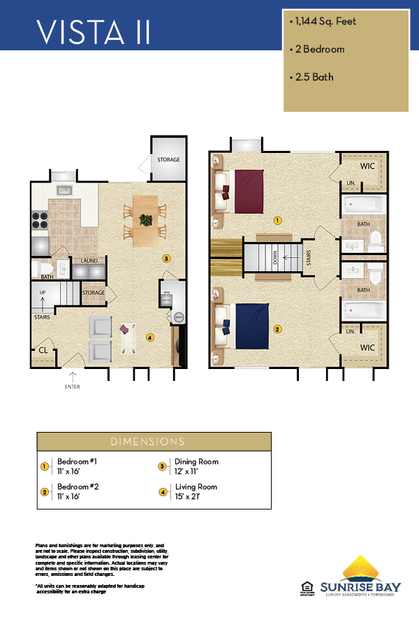 Vista II Floor Plan