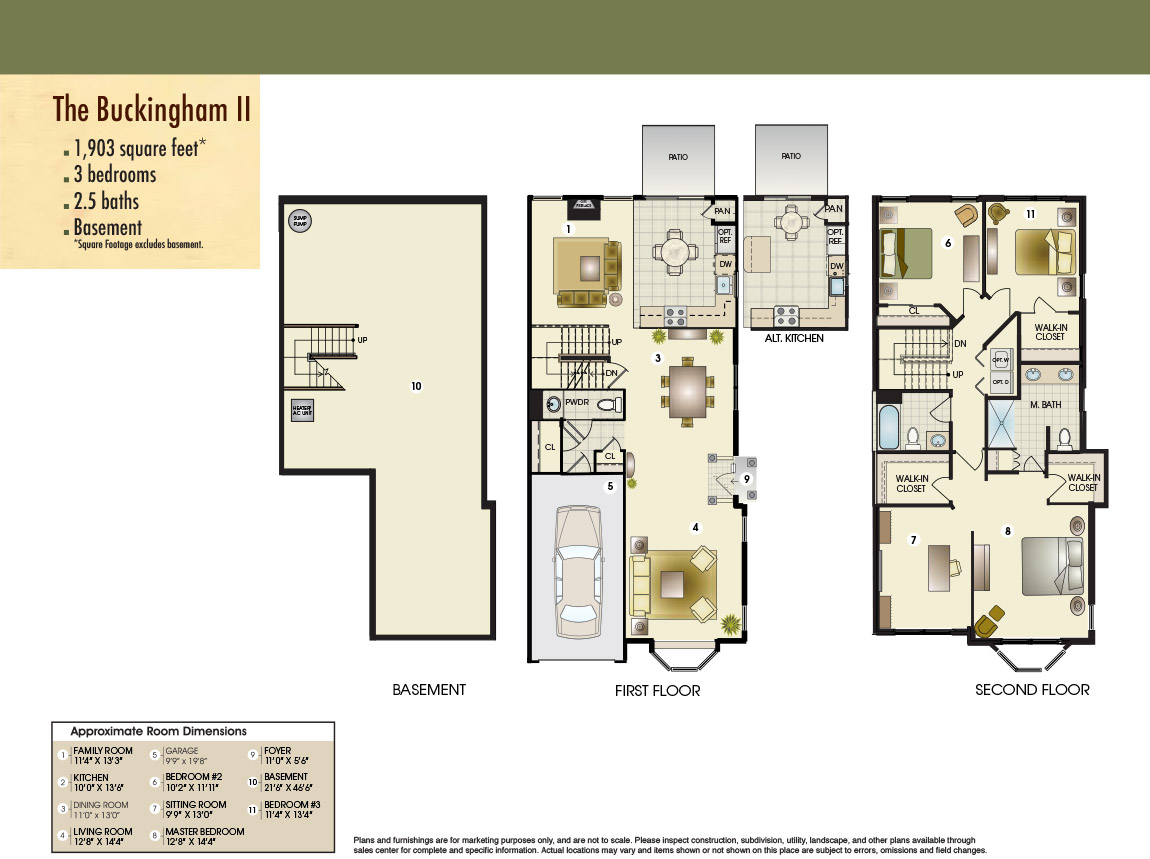 The Buckingham II Floor Plan