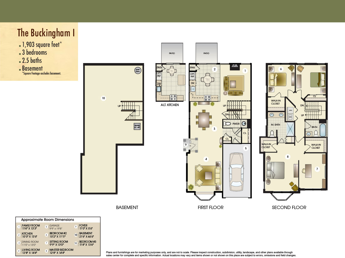 The Buckingham I Floor Plan