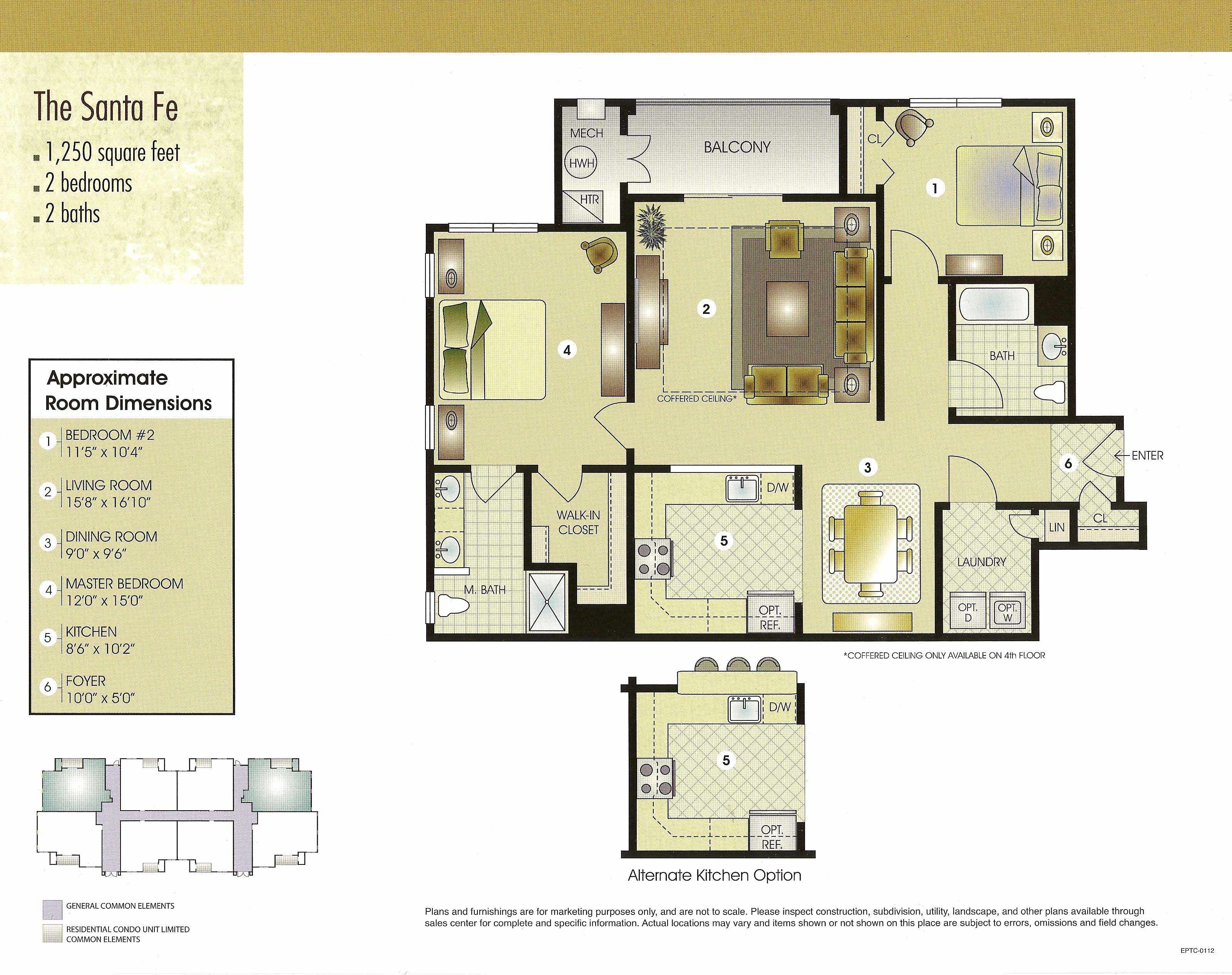 The Santa Fe Floor Plan